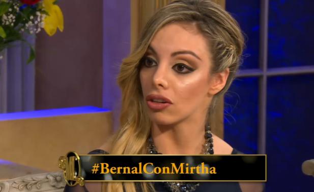La fuerte confesión de Gisela Bernal en lo de Mirtha: Francisco Delgado es el padre de mi hijo