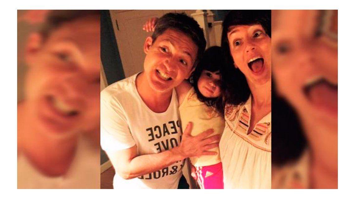 En un accidente doméstico se fracturó Margarita, la hija de Adrián Suar y Griselda Siciliani
