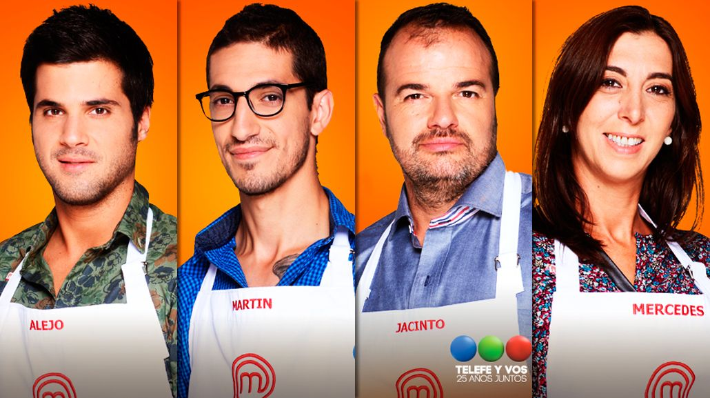 Mercedes, Jacinto, Alejo y Martín son los cuatro semifinalistas de MasterChef