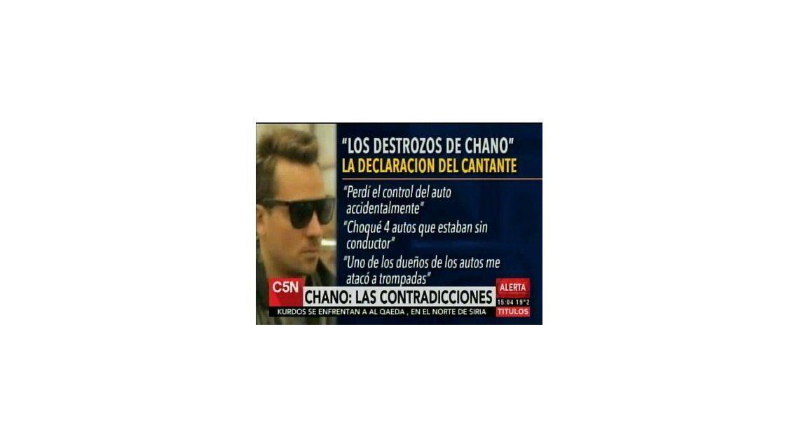 Las contradicciones de la declaración de Chano: el policía asegura que su relato era incoherente
