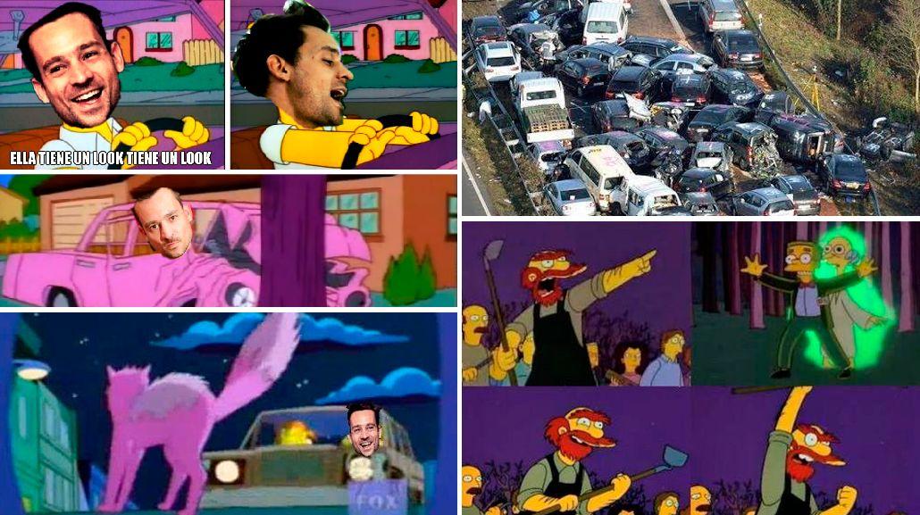 Los insólitos memes por el accidente de Chano en las redes sociales