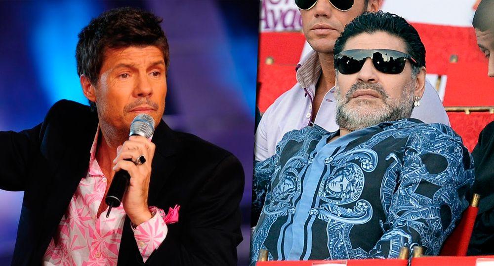Picante cruce entre Diego Maradona y Marcelo Tinelli: Ni muerto voy al Bailando