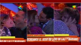 Show de besos: en Infama se comieron la boca como Lali Espósito y Mariano Martínez