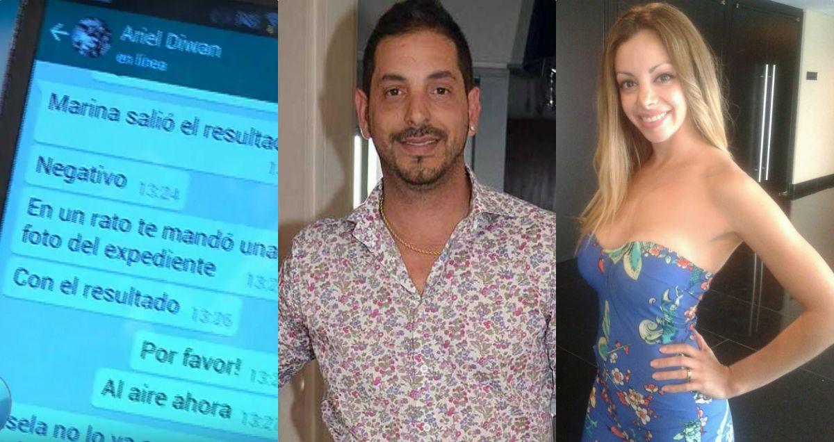 Dio negativo el ADN de Ariel Diwan: se confirma que no es el padre del hijo de Gisela Bernal