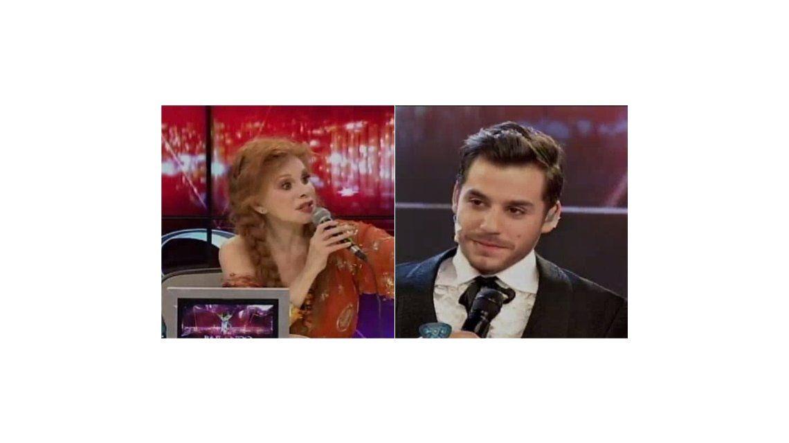 Nacha Guevara cuestionó a Fernando Dente: No podés bailar así y cantar al mismo tiempo