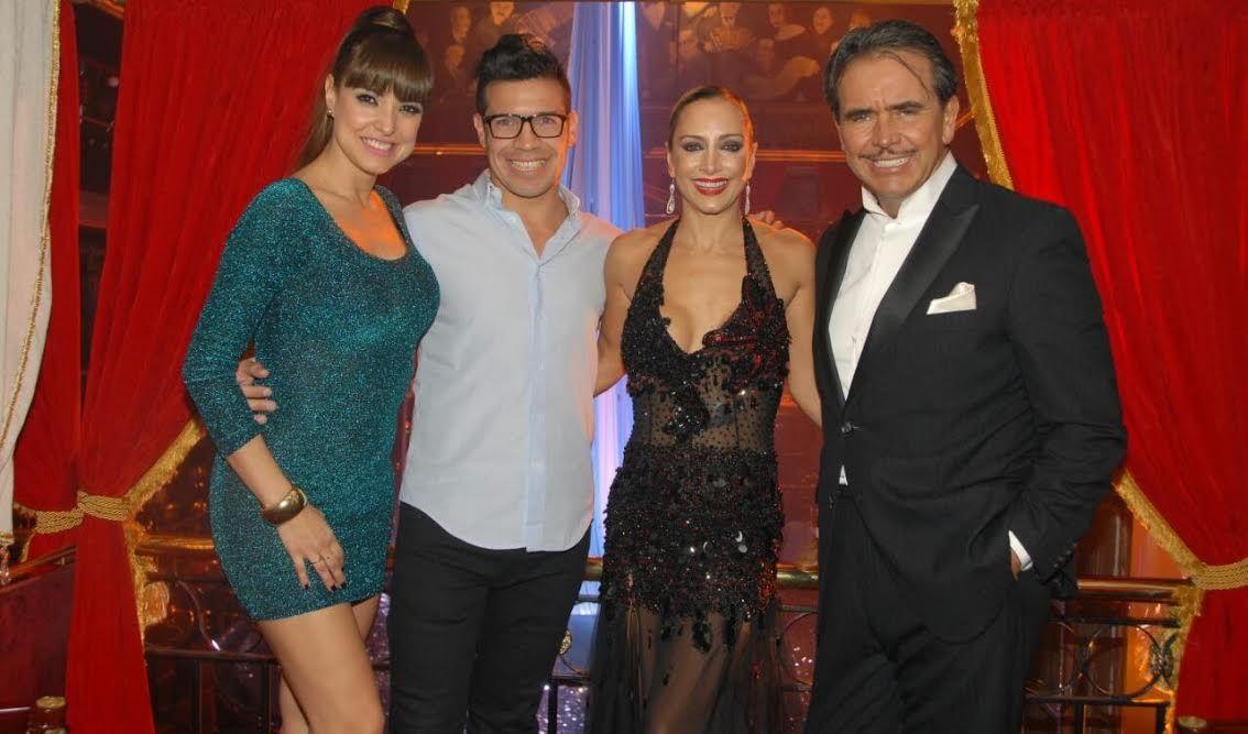 Andrea Estévez y Maravilla Martínez, juntos en la noche porteña: sus looks