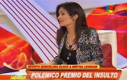 Carla Conte: Si hay algo que es una dictadura es la mesa de Mirtha Legrand