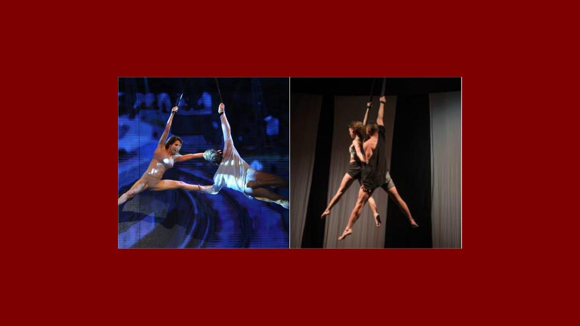 La pareja del Bailando y Kiebre Dúo