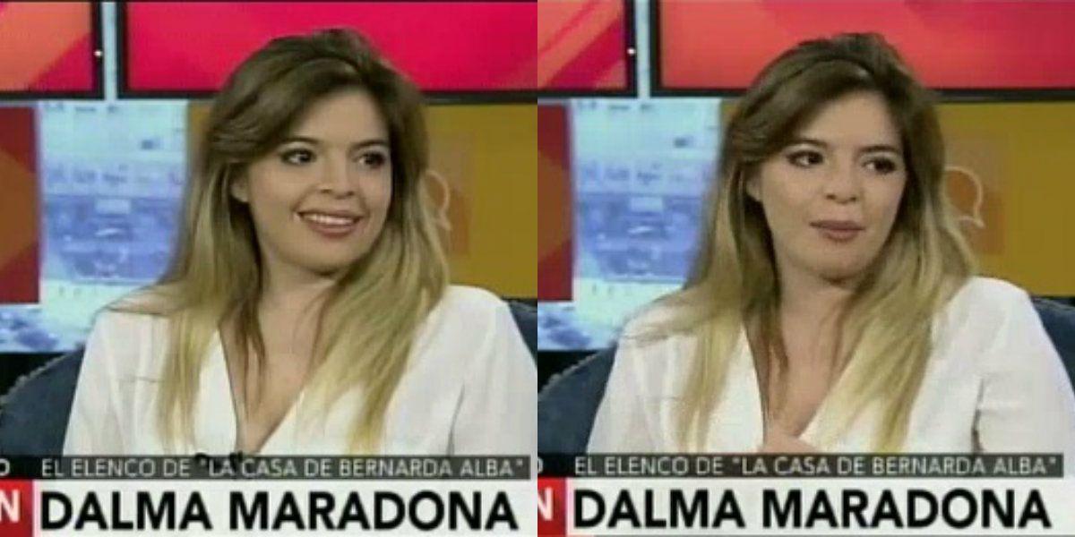 En medio del escándalo con Diego, Dalma Maradona se concentra en sus dotes de actriz