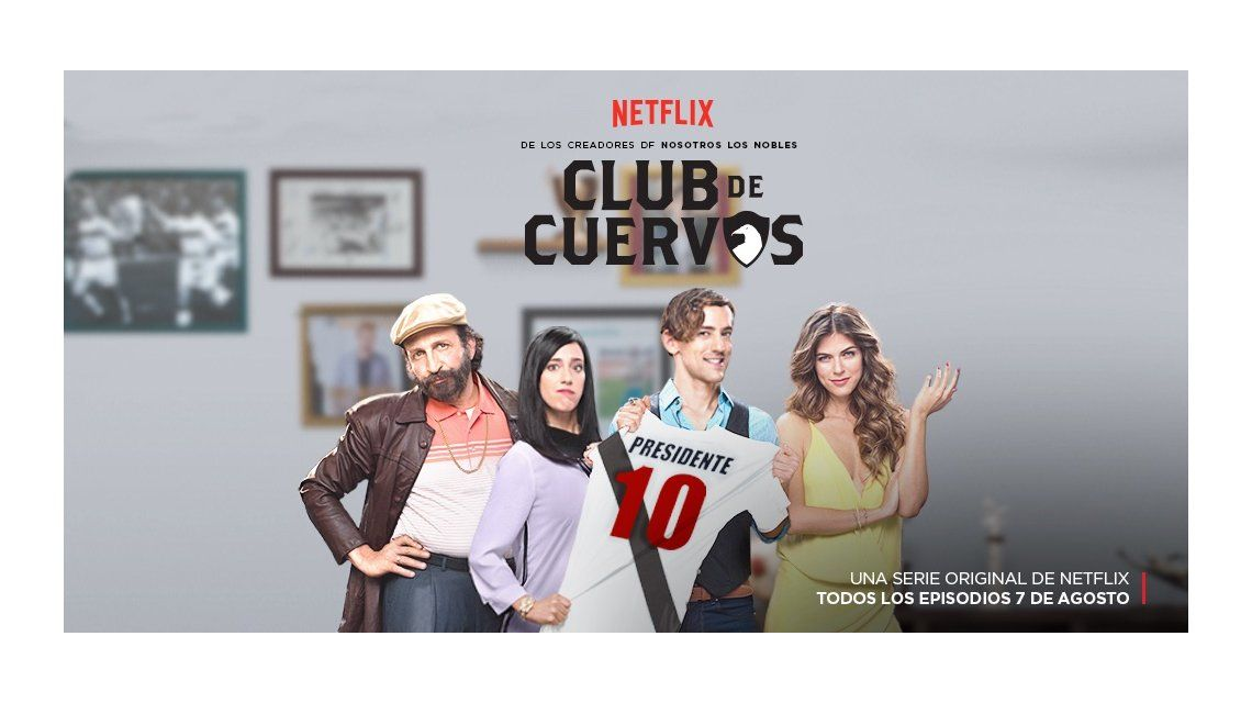RatingCero.com a solas con el elenco de Club de cuervos, la nueva serie futbolística de Netflix