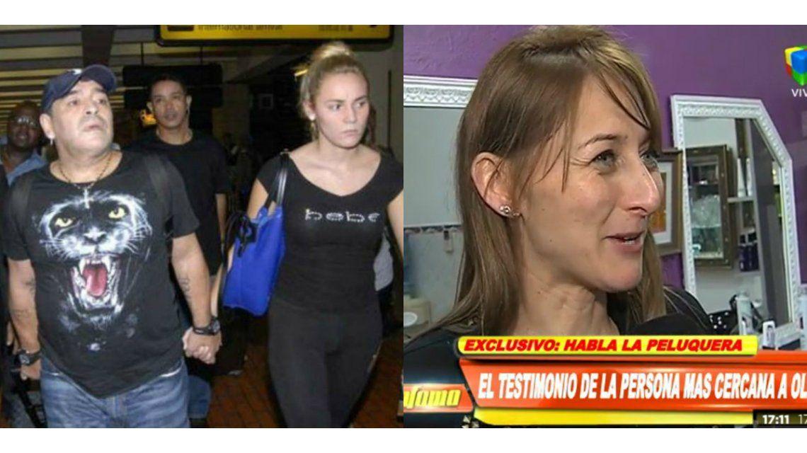 Los insultos de la pelea entre Diego Maradona y Oliva; y el testimonio de la peluquera de Rocío