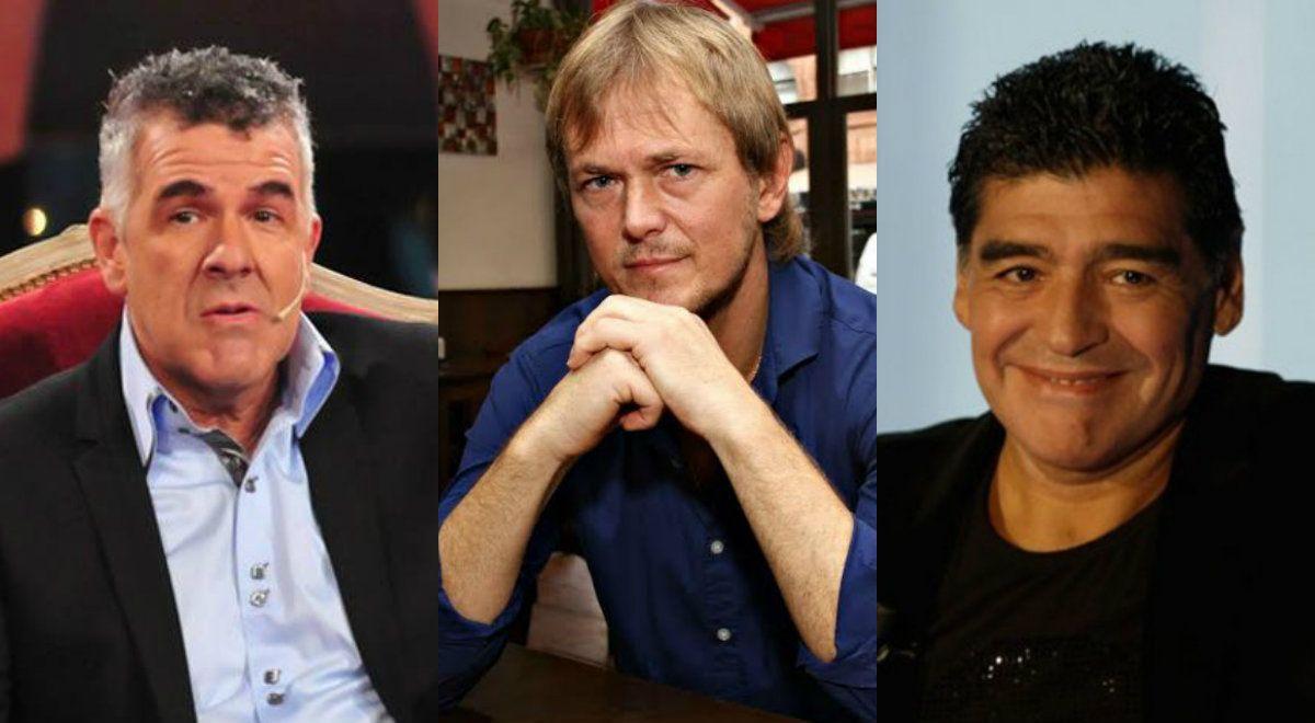 Dady Brieva desmintió a Diego Maradona: Jorge Taiana nunca sacó ventaja económica