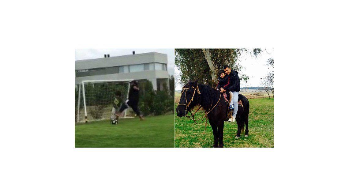 Maradona no vio a Benjamín porque estaba de vacaciones con el Kun Agüero: Antes que los abuelos, están los padres