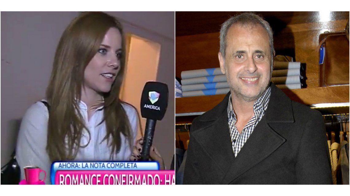 Agustina Kampfer y su relación con Jorge Rial: Está bueno darle a todo el tiempo que merece para que madure
