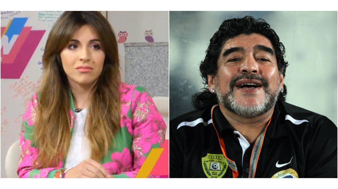 Gianinna Maradona, sobre Diego: Hay una persona que está todo el día comiéndole el cerebro