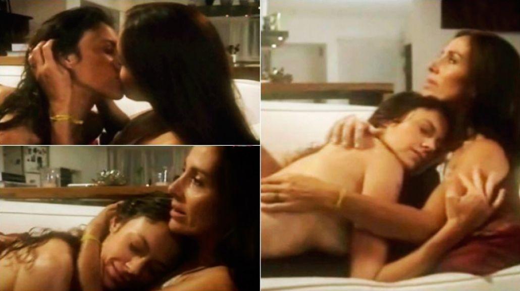 La escena caliente de Viviana Saccone con otra mujer en el debut de Milagros en campaña