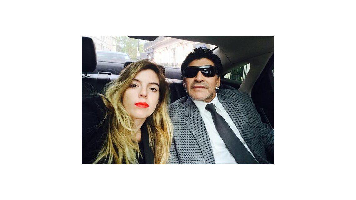 Dalma le respondió a Maradona contando una intimidad que la hizo llorar en televisión