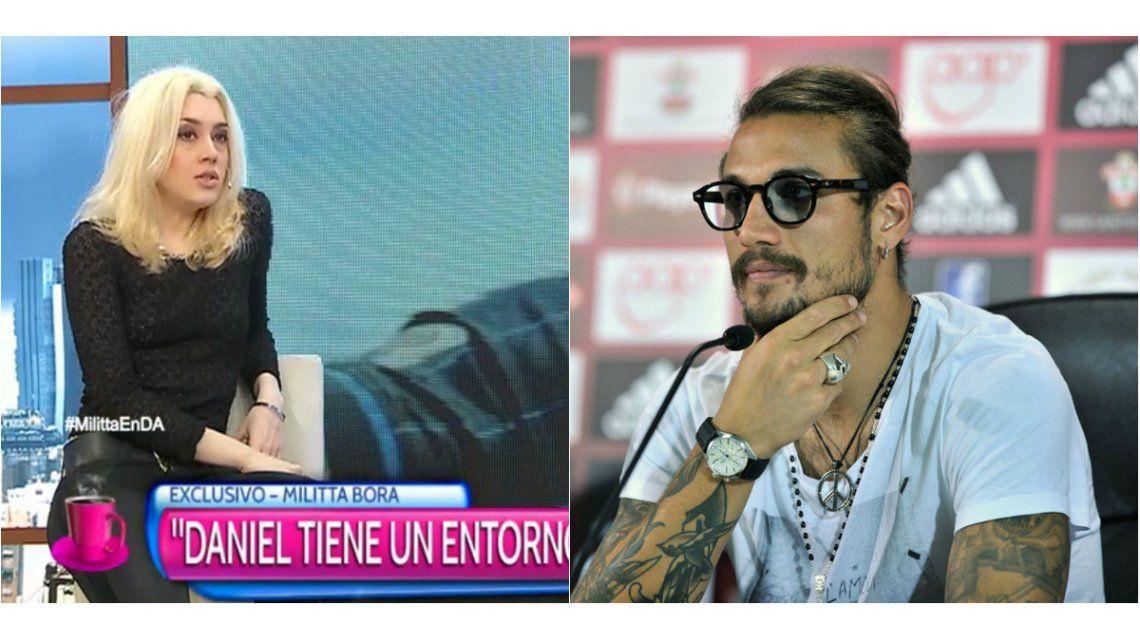 Militta Bora, la ex novia de Daniel Osvaldo, estaría embarazada