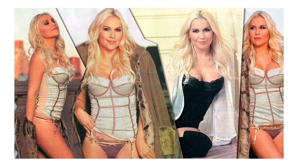 En medio del escándalo entre Diego Maradona y Claudia Villafañe, la producción caliente de Verónica Ojeda