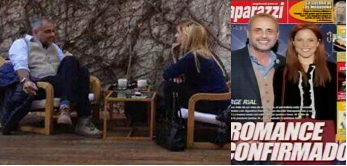 Una revista confirma el romance de Agustina Kampfer y Jorge Rial