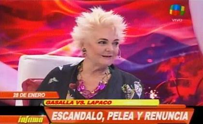 Tras la info de Ratingcero, Claudia Lapacó dejaría la obra de Gasalla: el video revelador de los insultos