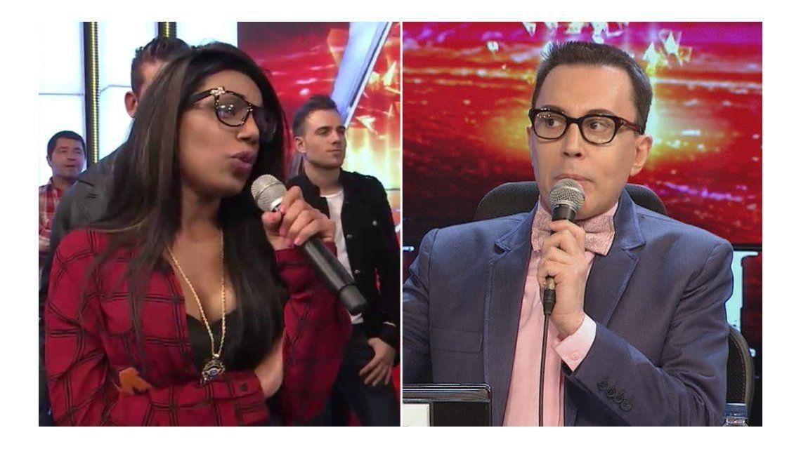 La insólita pelea tuitera de Mimi, la novia de El Tirri, y Marcelo Polino por el jurado de Showmatch