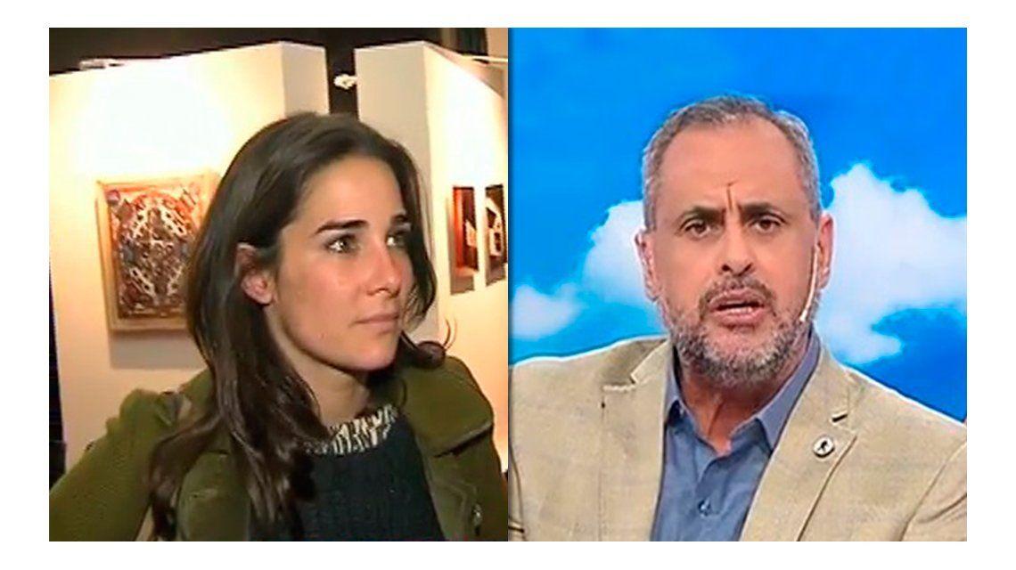Juana Viale dio una nota de mala gana y Jorge Rial hizo su descargo: Sos una maleducada, nena