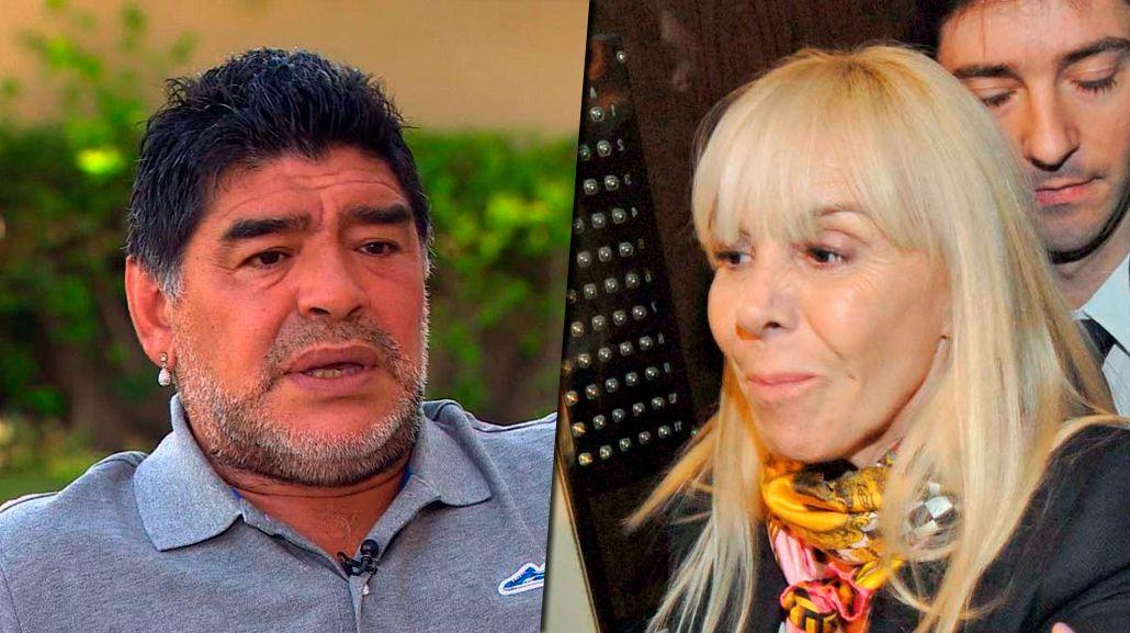 Los motivos por los que Diego Maradona quiere demandar a Claudia Villafañe en los Estados Unidos