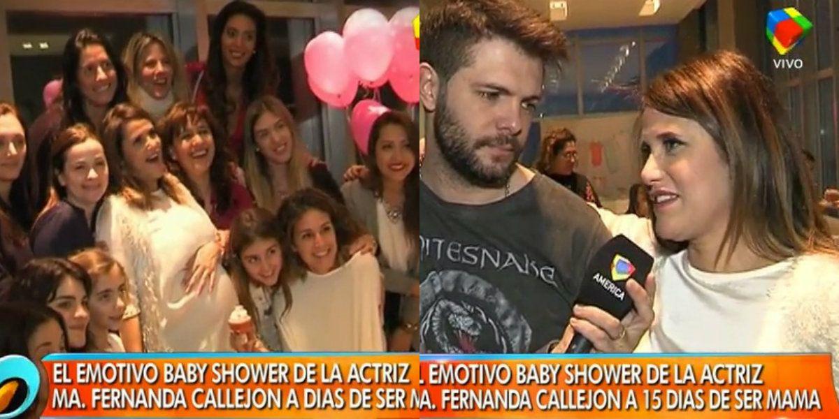 Fotos y video: El emotivo baby shower de María Fernanda Callejón