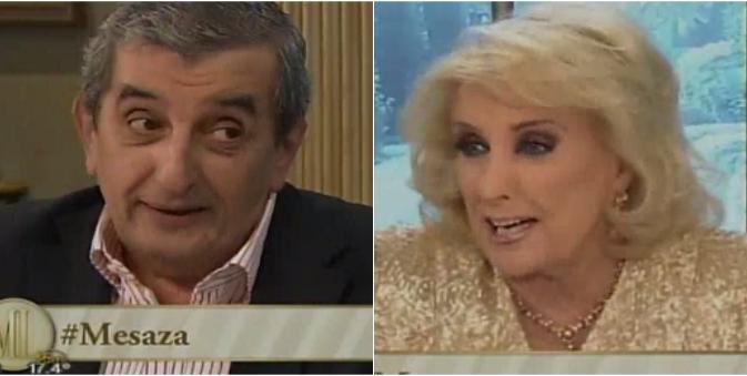 El Negro Álvarez habló de su renuncia al Bailando y Mirtha le preguntó: ¿vos te enojaste con Juanita?