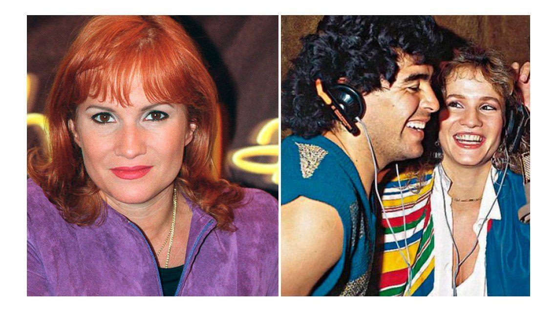 Lucía Galán, ex de Diego Maradona, se mete en la polémica: Me lo veía venir, creo que no tiene paz