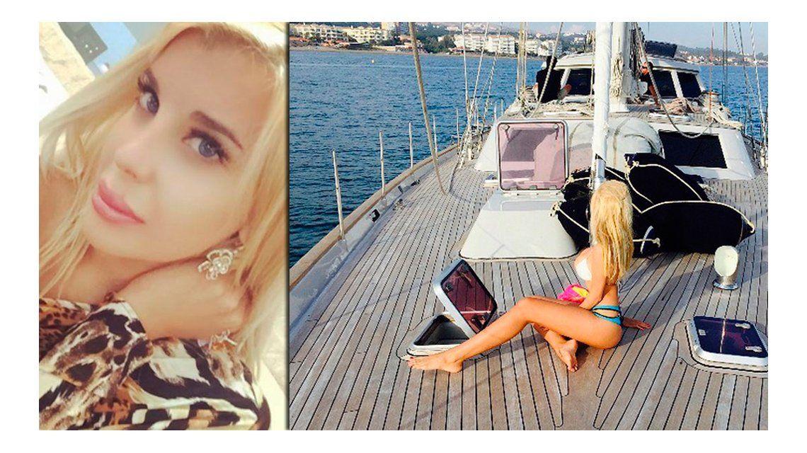 Las fotos calientes de Charlotte Caniggia en el verano italiano