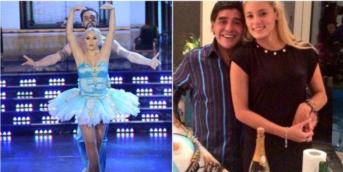 Verónica Ojeda quiere invitar a Diego Maradona a la salsa en trío y apunta contra Rocío Oliva: Que se joda