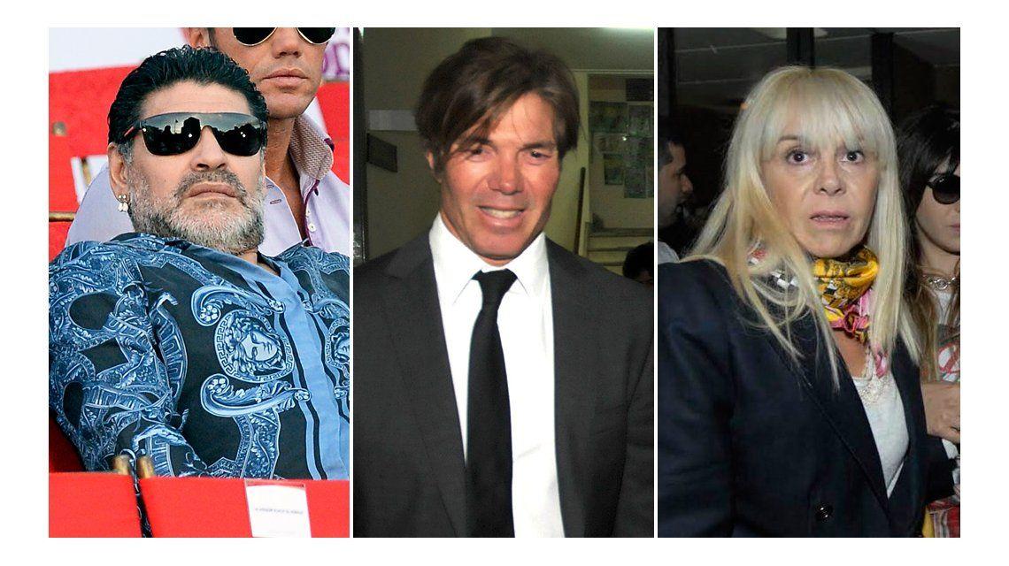No hubo oferta de Claudia, sino propuestas recíprocas, dijo su abogado sobre la audiencia con Diego Maradona