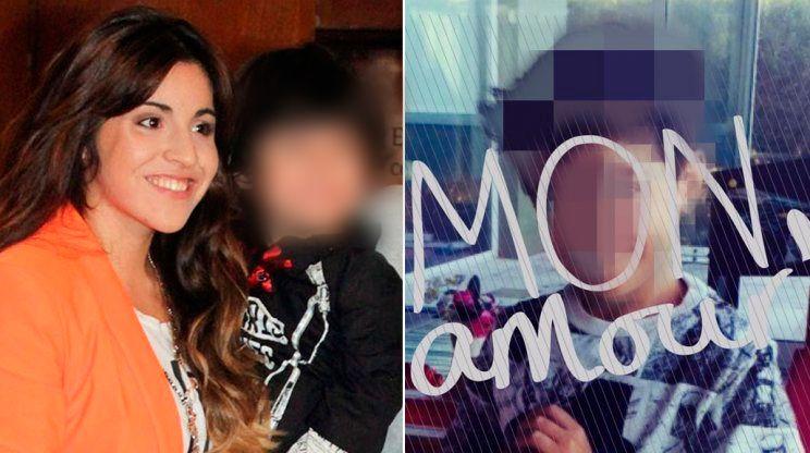 La tierna foto que publicó Gianinna Maradona con el nuevo look de su hijo Benjamín Agüero