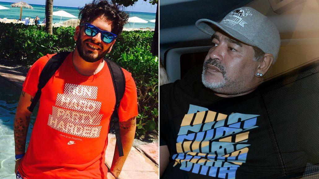 El comunicado oficial de Diego Jr. sobre el escándalo Maradona - Villafañe