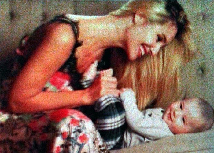 Paula Morales y su vida de madre: Valentino duerme en nuestro cuarto
