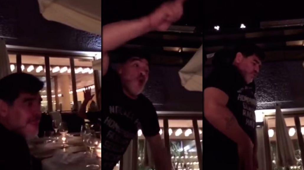 La insólita versión de No woman, no cry de Diego Maradona que se hizo viral