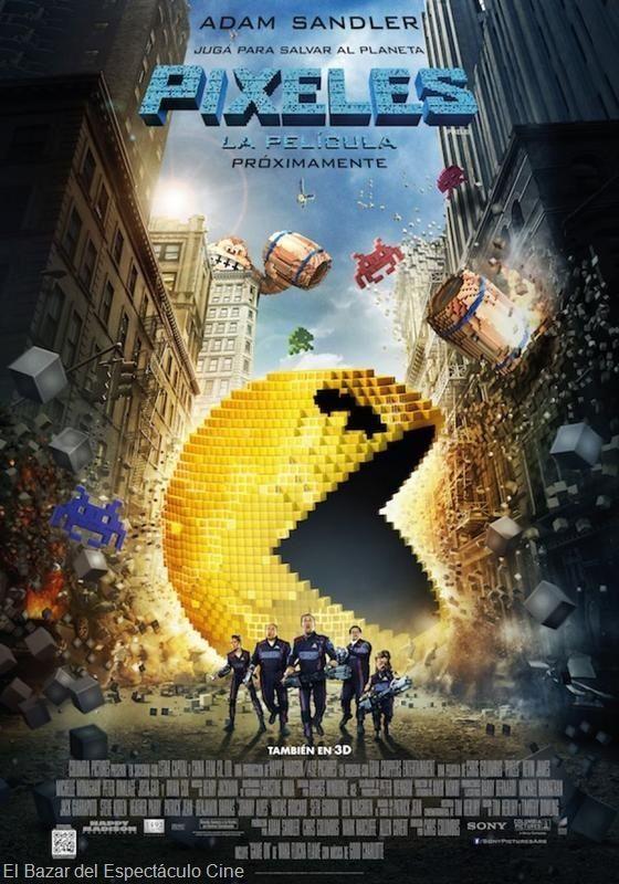 Píxeles, la nueva película de Adam Sandler