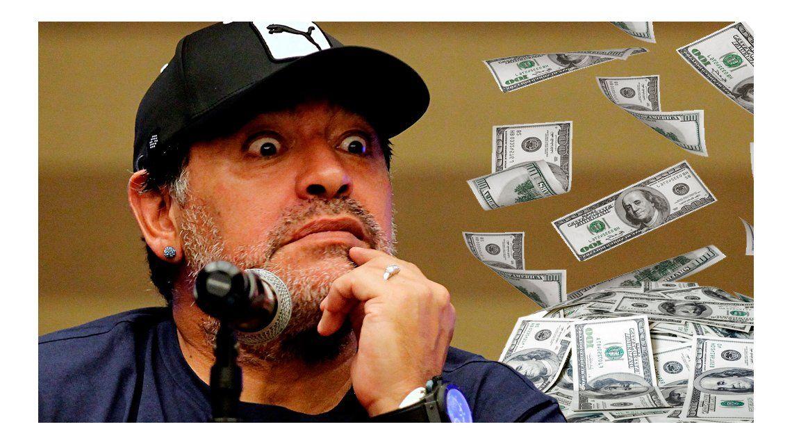 El detalle de los millones de Diego Maradona: ¿A quién le dio el dinero?