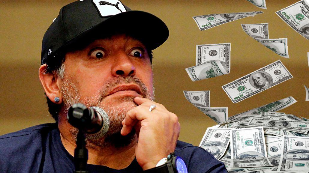El contrato millonario que firmó Diego Maradona en Dubai