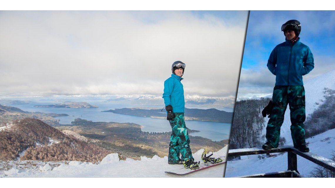Mike Amigorena, fan del Snowboard: Siempre me gustó vivir al límite