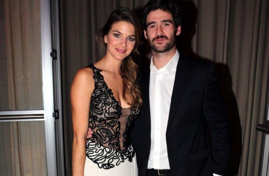 Marcela Kloosterboer y su marido.