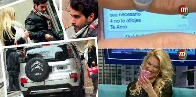El romántico mensaje de Nicolás Cabré a Ailén Bechara: Prince, te amo