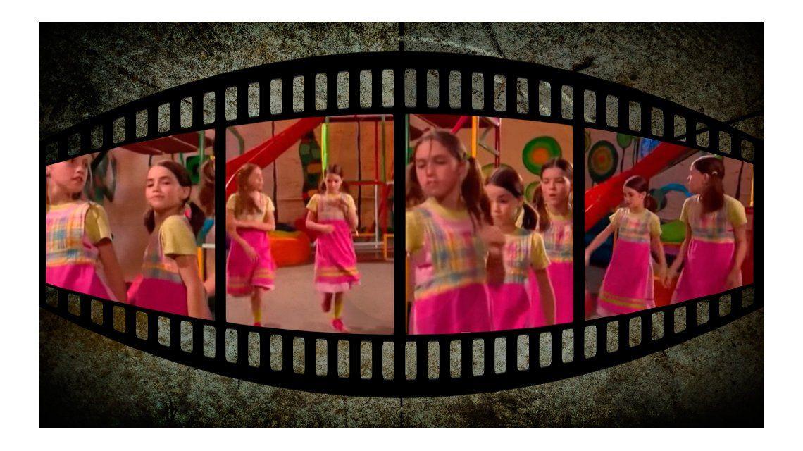 Lali Espósito, la China Suárez y Cande Vetrano, de chiquititas bailando juntas