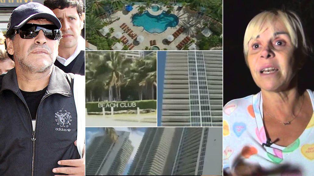 Nuevo escándalo por los departamentos de Miami: Villafañe va por todo contra Maradona