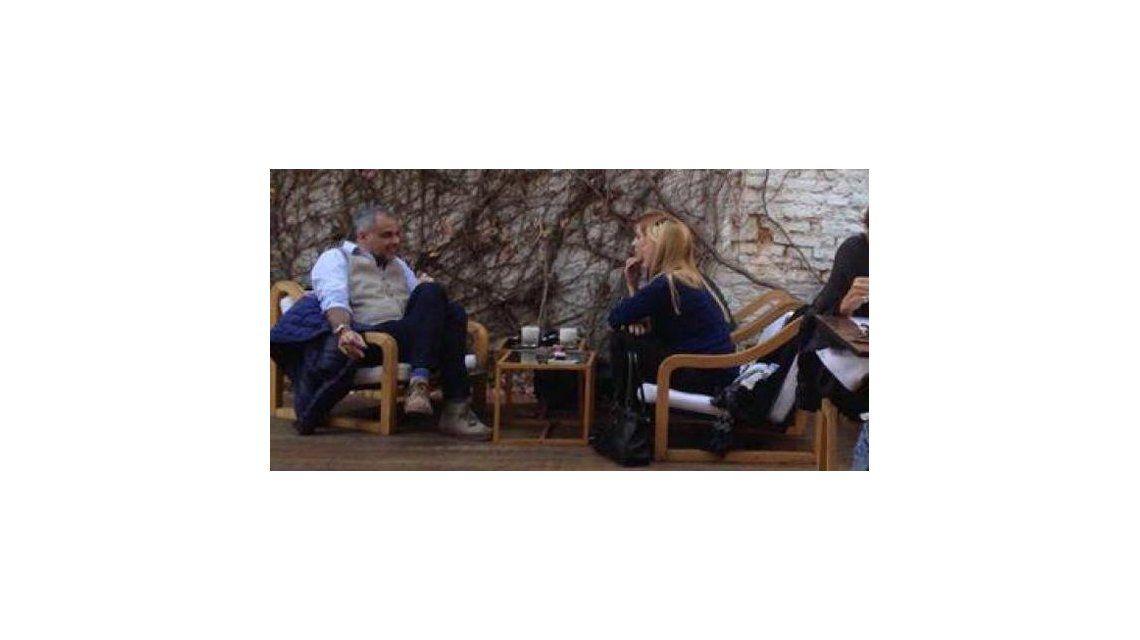 Lo que todos esperaban: Jorge Rial y Agustina Kämpfer tomaron un café juntos