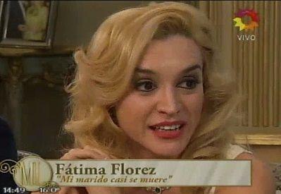 Fátima Florez recordó una experiencia paranormal que vivió con su marido