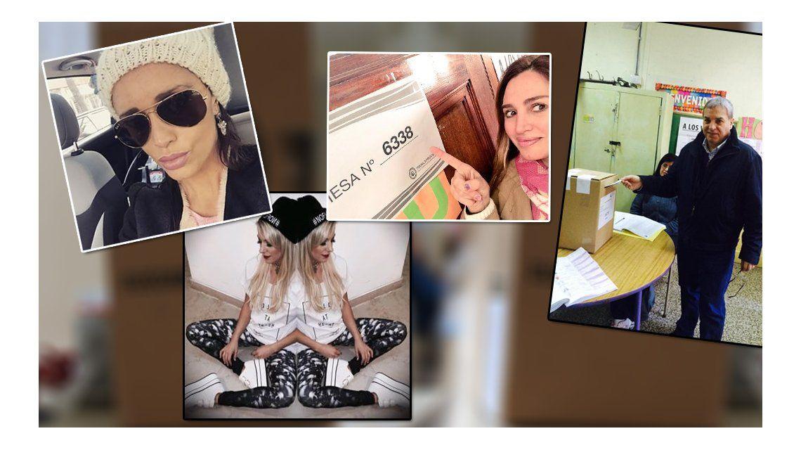 Los famosos volvieron a votar en Capital Federal: sus reacciones en Twitter
