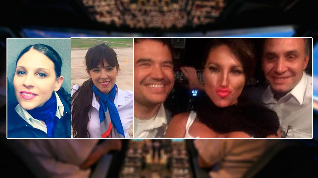Los testimonios completos de las azafatas del vuelo del escándalo de Vicky Xipolitakis